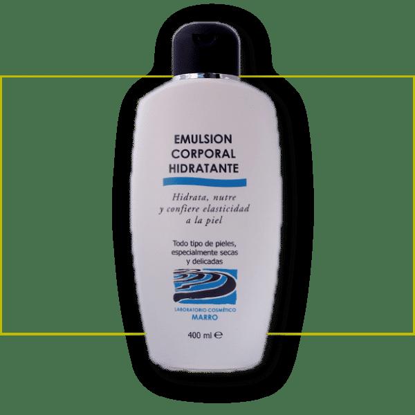 emulsión corporal hidratante marrofórmula